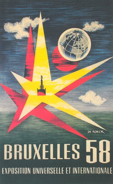 Poster of the 1958 Brussels World's Fair.
