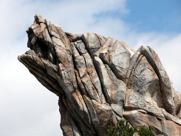 Grizzly Peak detail.