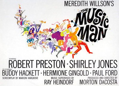 "Poster ""The Music Man""."
