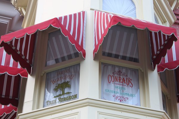 Stars above Main Street USA - Designing Disney